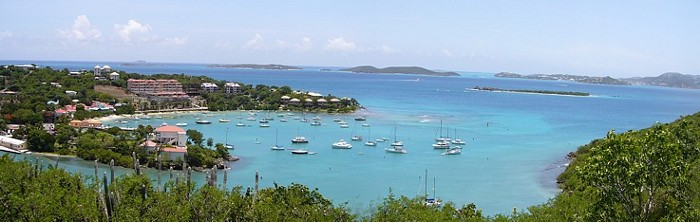Cruz Bay St John US  Virgin Islands